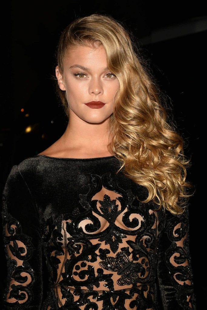 Nina Agdal at the Harper's Bazaar Celebrates ICONS Party During New York Fashion Week-3