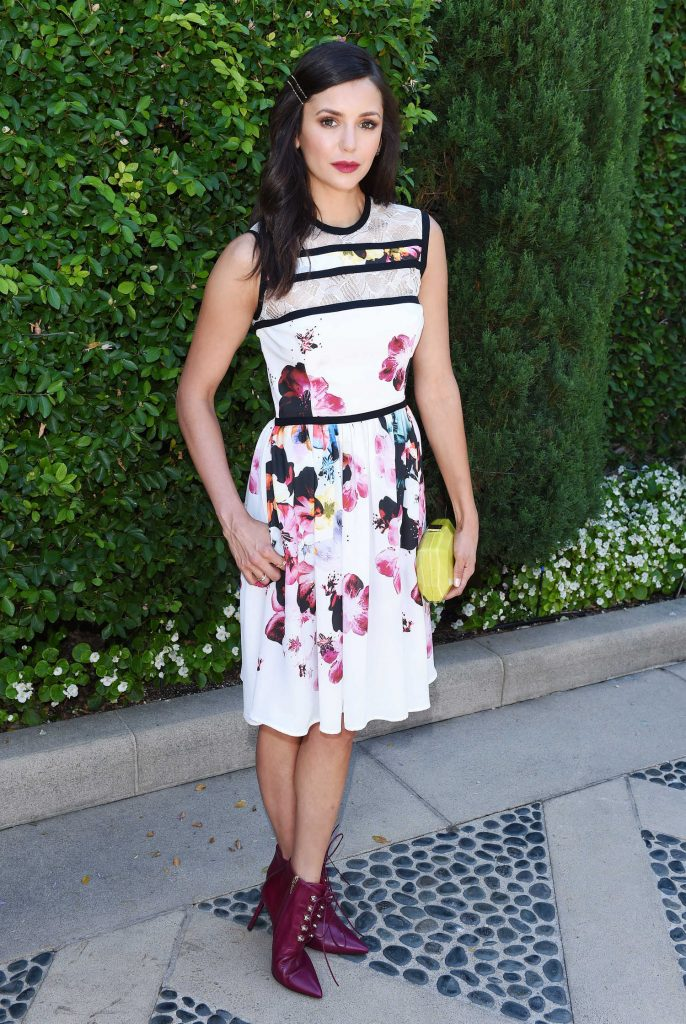 Nina Dobrev at the Rape Foundation Annual Brunch at a Private Residence in Beverly Hills-1