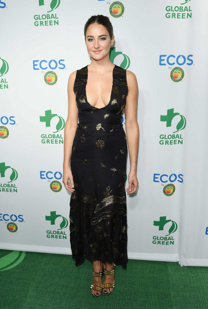 Shailene Woodley at the Global Green Environmental Awards in Los Angeles-1