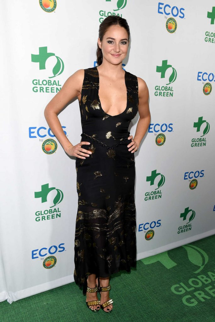 Shailene Woodley at the Global Green Environmental Awards in Los Angeles-2