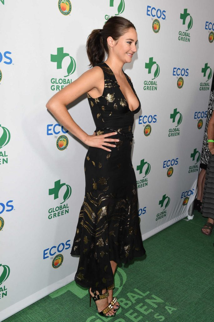 Shailene Woodley at the Global Green Environmental Awards in Los Angeles-4