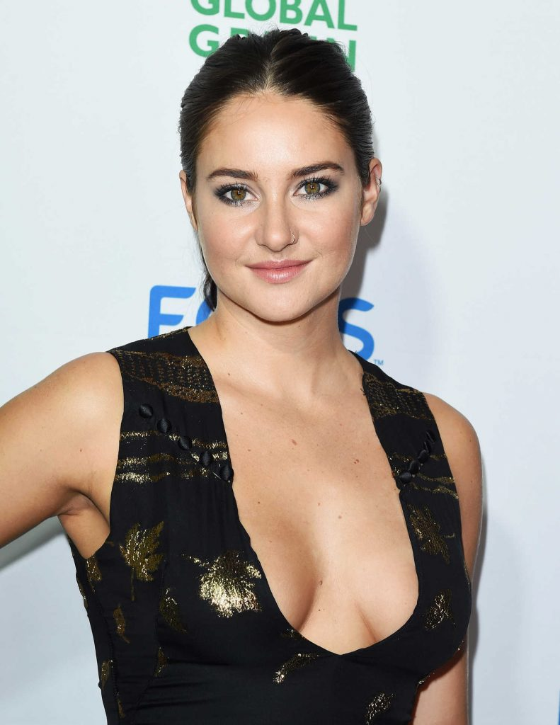 Shailene Woodley at the Global Green Environmental Awards in Los Angeles-5