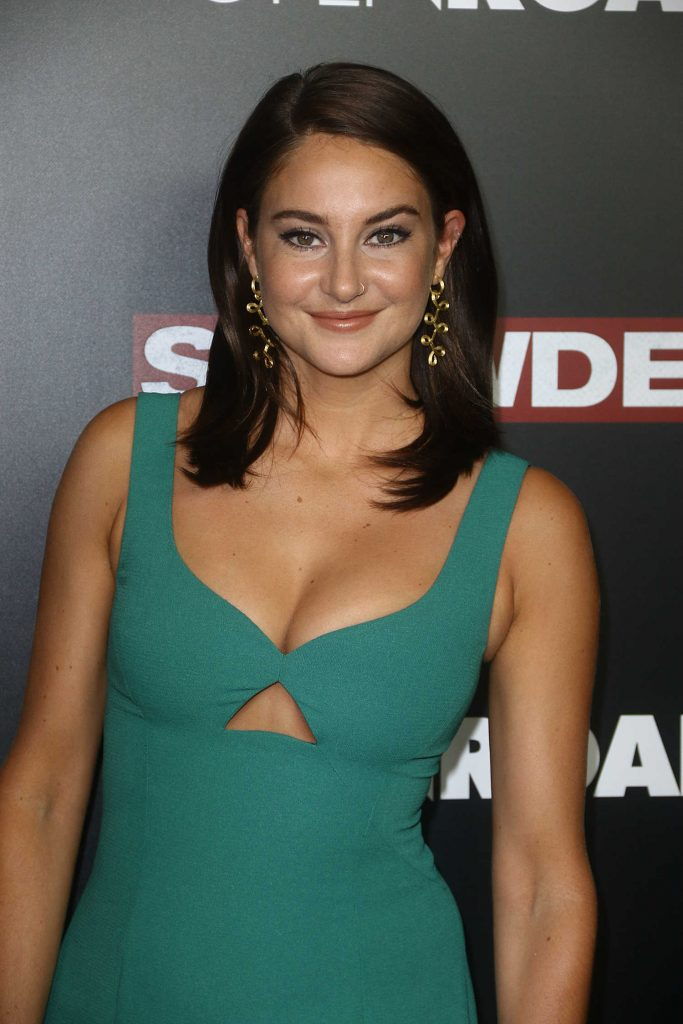 Shailene Woodley at the Snowden Premiere in New York City-5