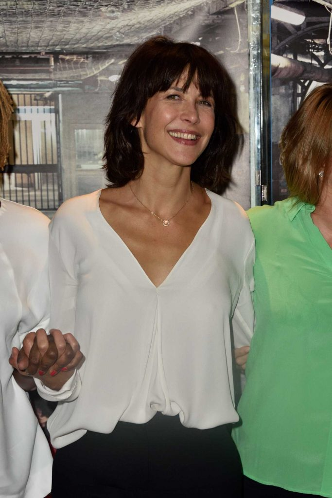 Sophie Marceau at the Jailbirds Premiere in Paris-1