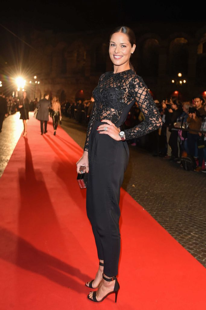 Ana Ivanovic Attends Intimissimi On Ice at Arena in Verona-3