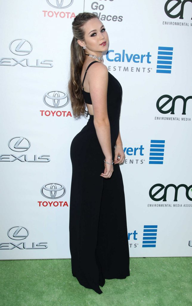 Brec Bassinger at the 26th Annual EMA Awards in Burbank-3