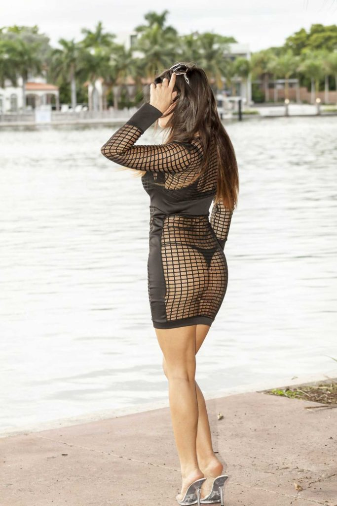 Claudia Romani Was Seen Out in Miami-3