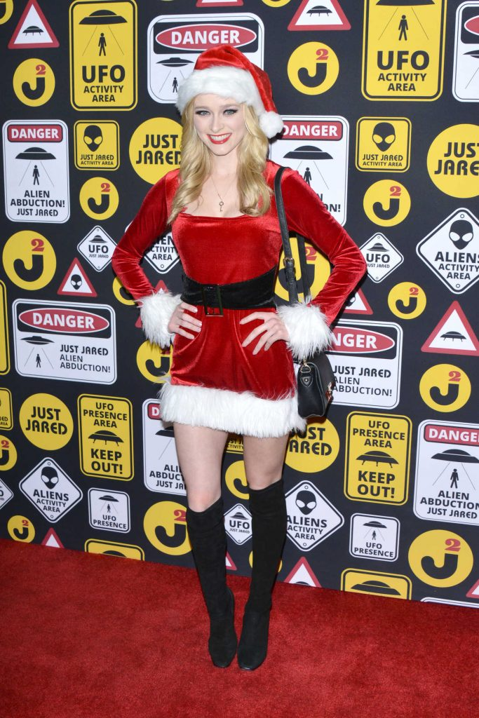 Greer Grammer at the Just Jared Annual Halloween Party in Los Angeles-1