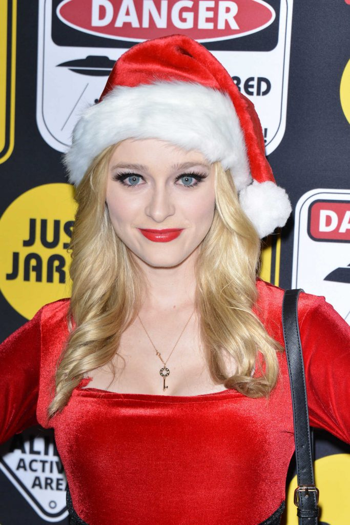 Greer Grammer at the Just Jared Annual Halloween Party in Los Angeles-4