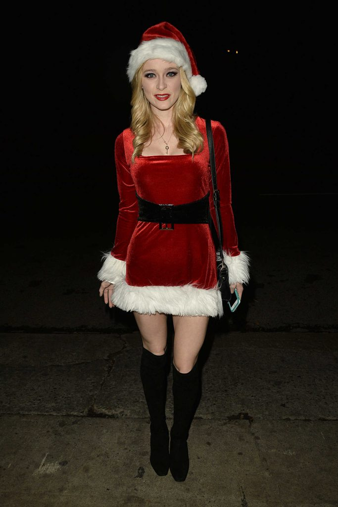 Greer Grammer at the Just Jared Annual Halloween Party in Los Angeles-5
