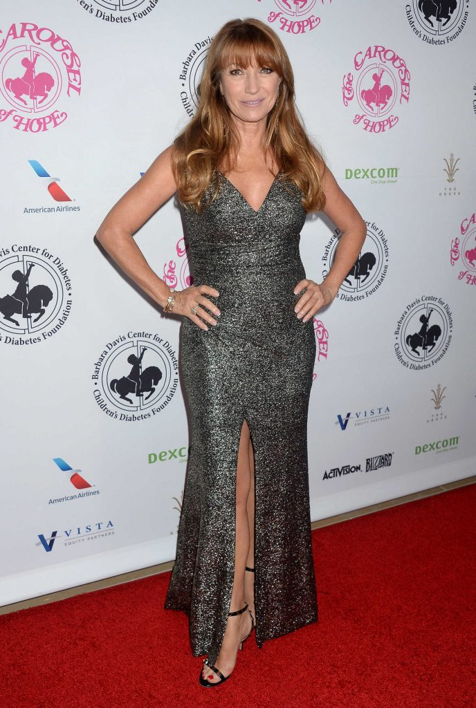 Jane Seymour at the Carousel of Hope Ball in Beverly Hills-1