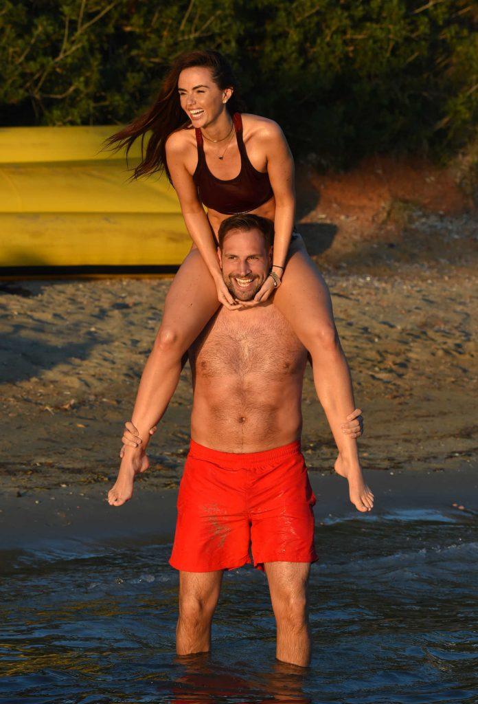 Jennifer Metcalfe in Bikini at the Beach in Ibiza-4