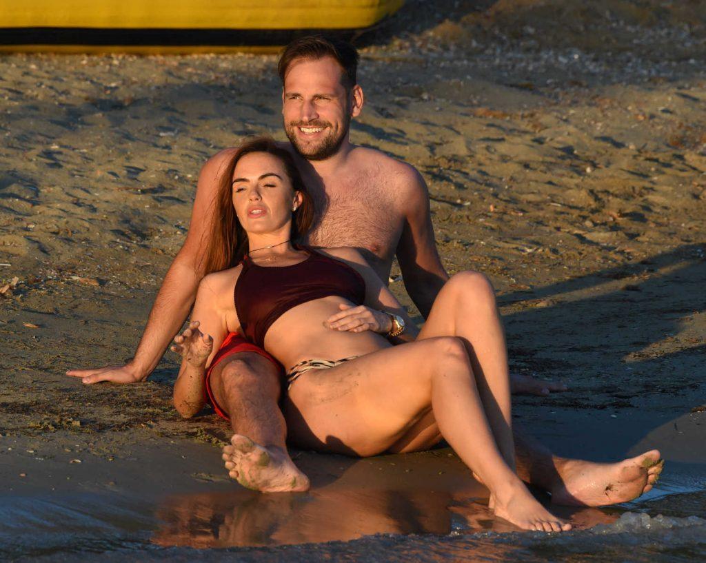 Jennifer Metcalfe in Bikini at the Beach in Ibiza-5