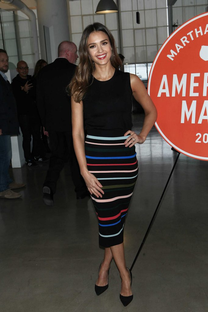 Jessica Alba at the 2016 American Made Summit in NYC-1