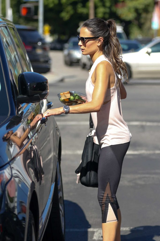 Jordana Brewster Out in Beverly Hills-5