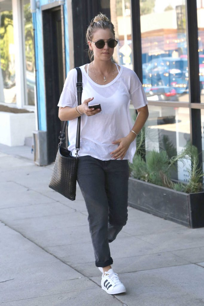 Kaley Cuoco Was Seen Out in Studio City-1