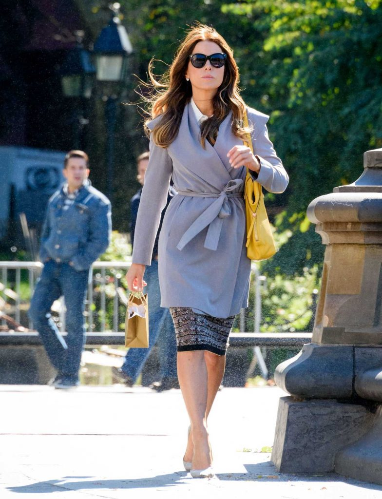 Kate Beckinsale on the Set of The Only Living Boy in New York-1