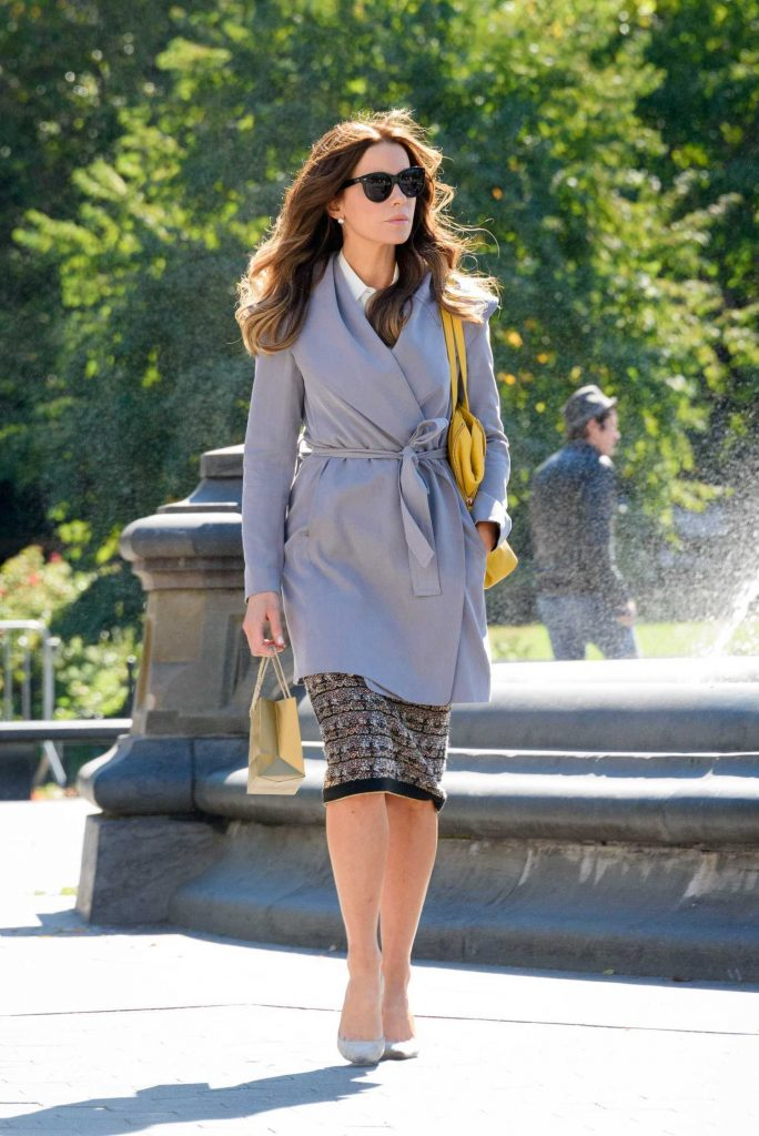 Kate Beckinsale on the Set of The Only Living Boy in New York-3