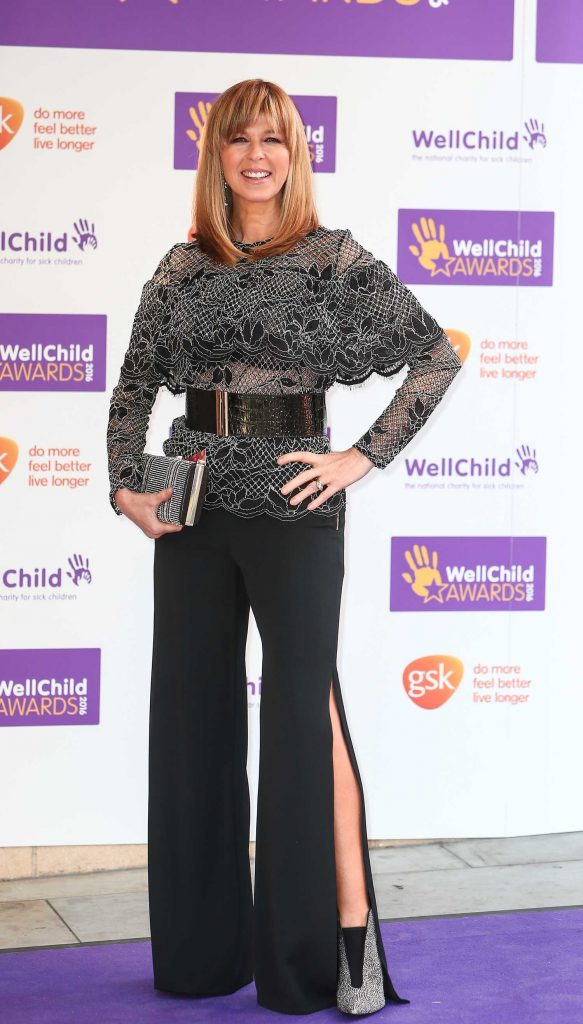 Kate Garraway at the WellChild Awards 2016 at the Dorchester in London 10/03/2016-1