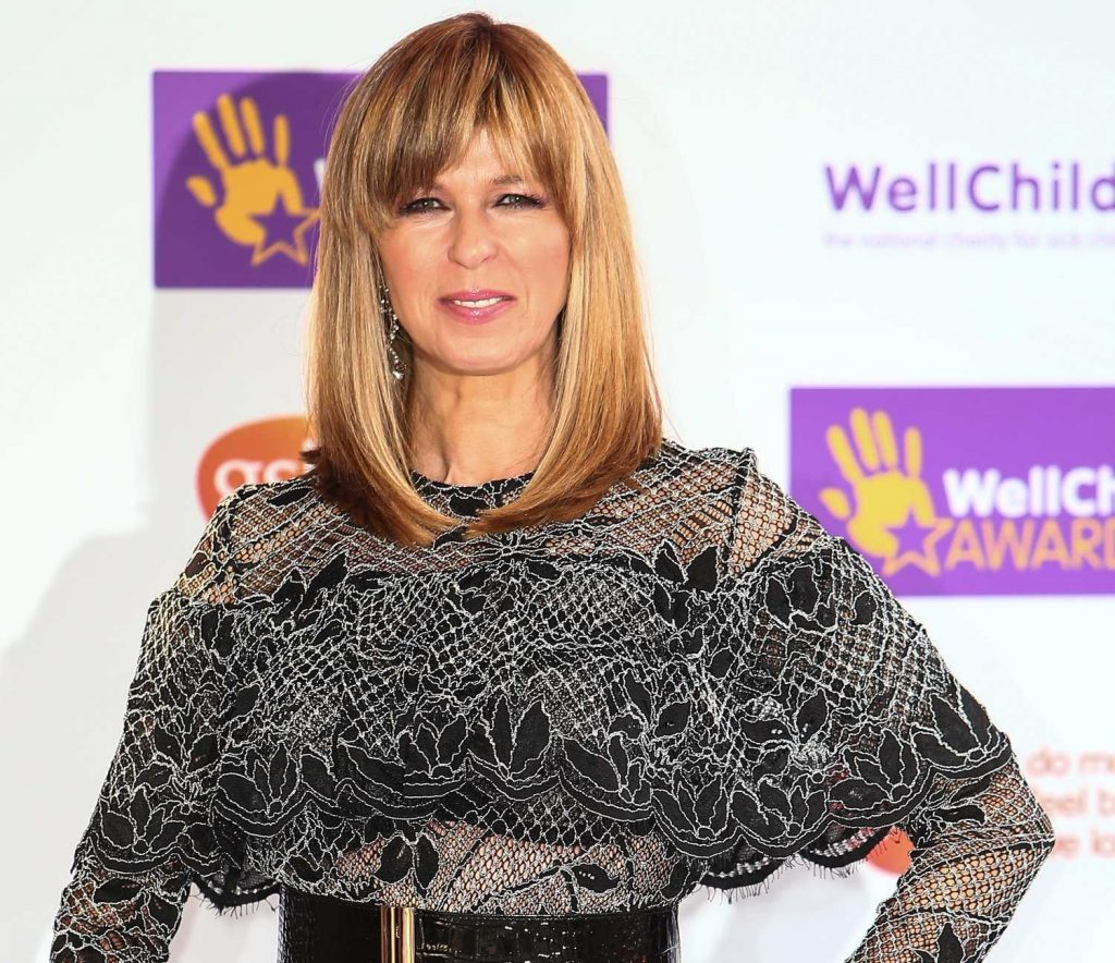 Kate Garraway at the WellChild Awards 2016 at the Dorchester in London 10/03/2016-3