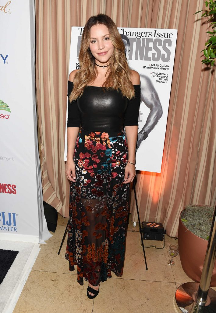 Katharine McPhee at the Men's Fitness Magazine Hosts Game Changers Celebration in Los Angeles-1