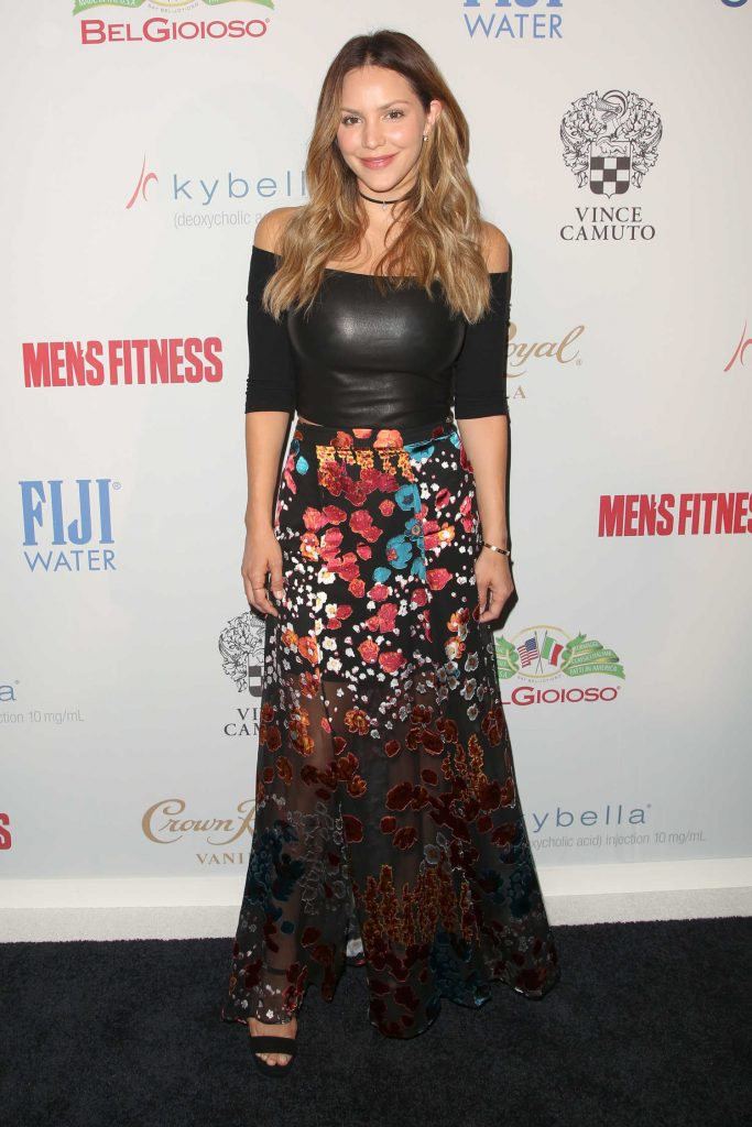 Katharine McPhee at the Men's Fitness Magazine Hosts Game Changers Celebration in Los Angeles-3