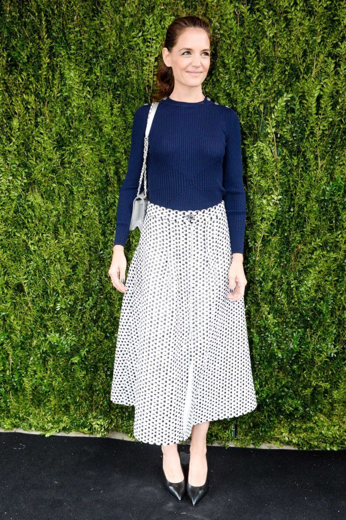 Katie Holmes at the Tribeca Chanel Women's Filmmaker Program Luncheon in New York-1