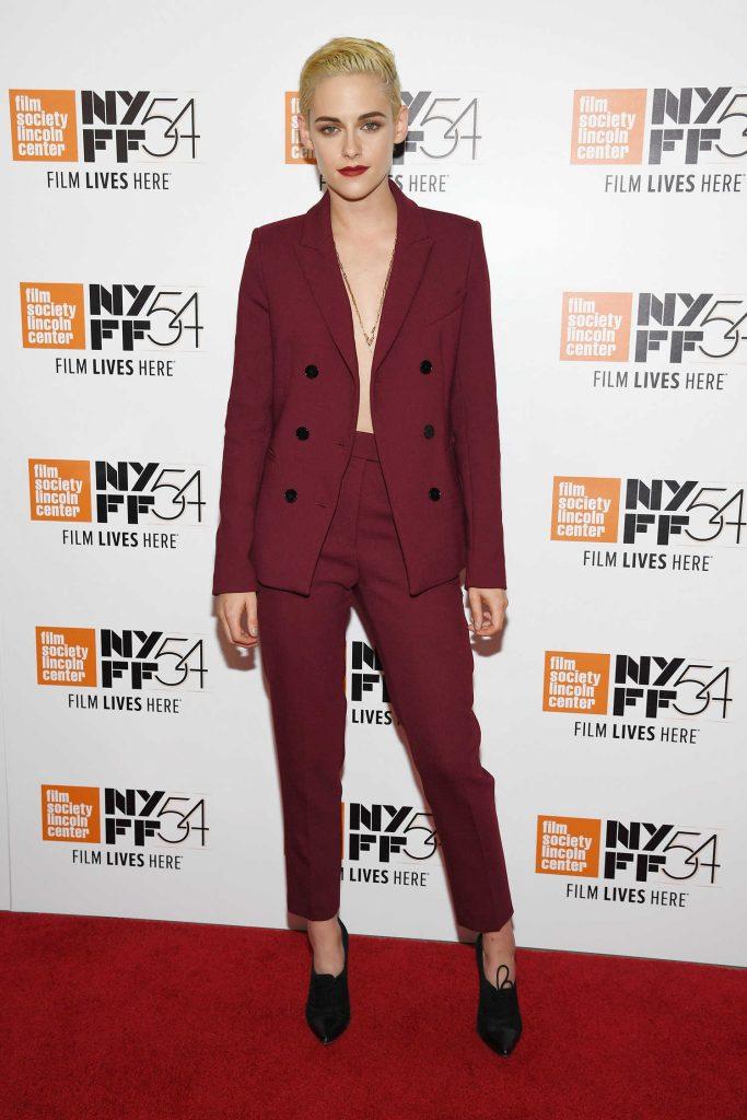 Kristen Stewart at the Certain Women Premiere During the 54th New York Film Festival-1