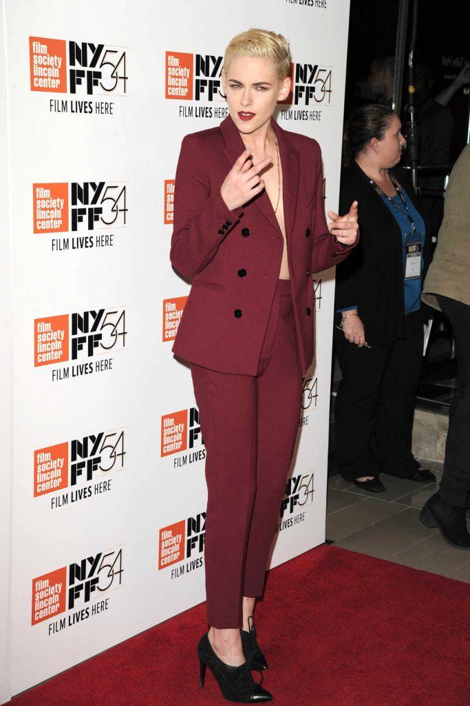 Kristen Stewart at the Certain Women Premiere During the 54th New York Film Festival-2
