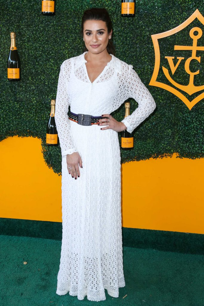 Lea Michele at the 7th Annual Veuve Clicquot Polo Classic in Pacific Palisades-1