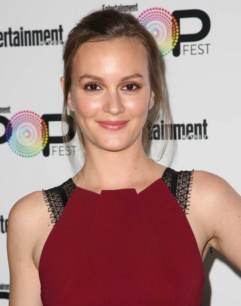 Leighton Meester at Entertainment Weekly's PopFest in Los Angeles-4