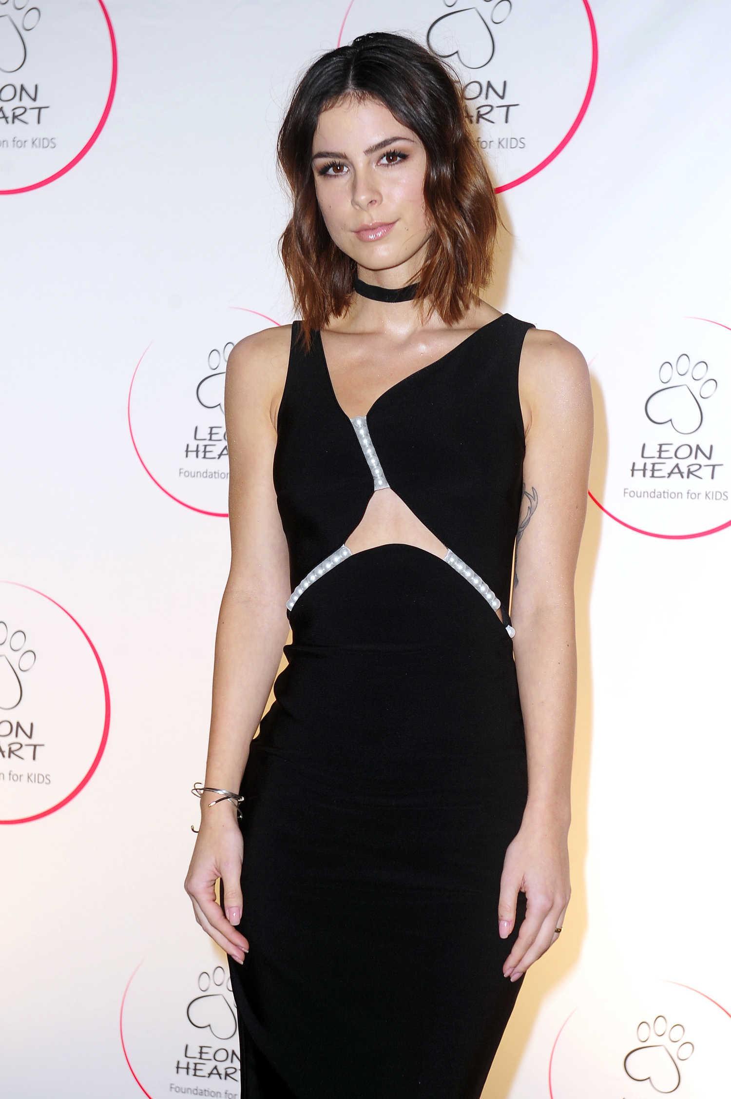 Lena Meyer-Landrut at the Leon Heart Foundation Charity