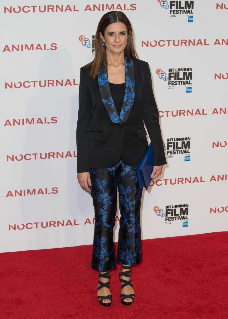 Livia Giuggioli at the Nocturnal Animals Premiere During the London Film Festival-1