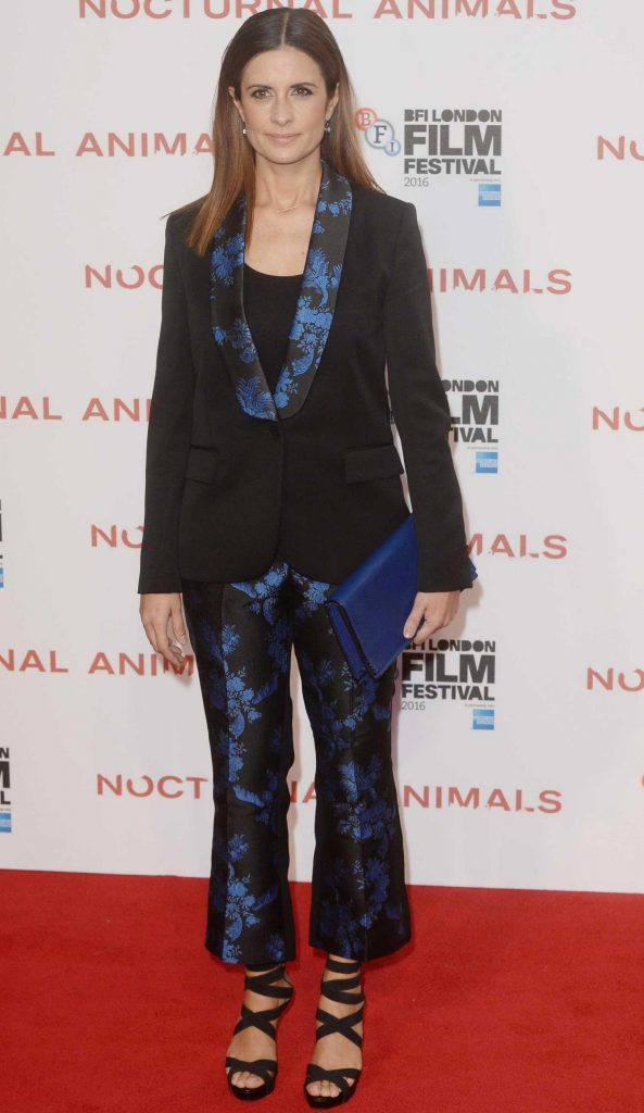 Livia Giuggioli at the Nocturnal Animals Premiere During the London Film Festival-2