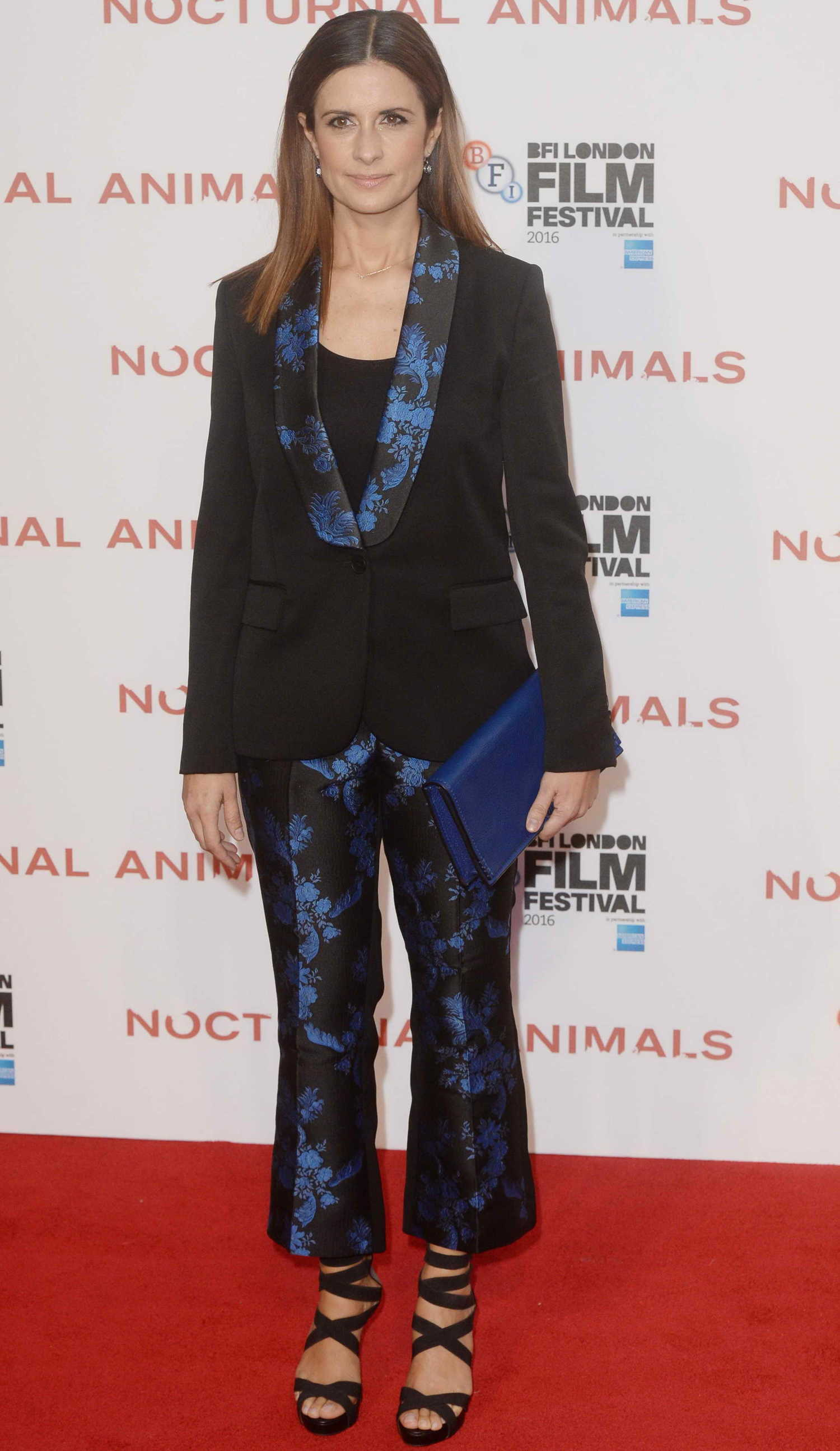 Livia Giuggioli at the Nocturnal Animals Premiere During ... Marion Cotillard