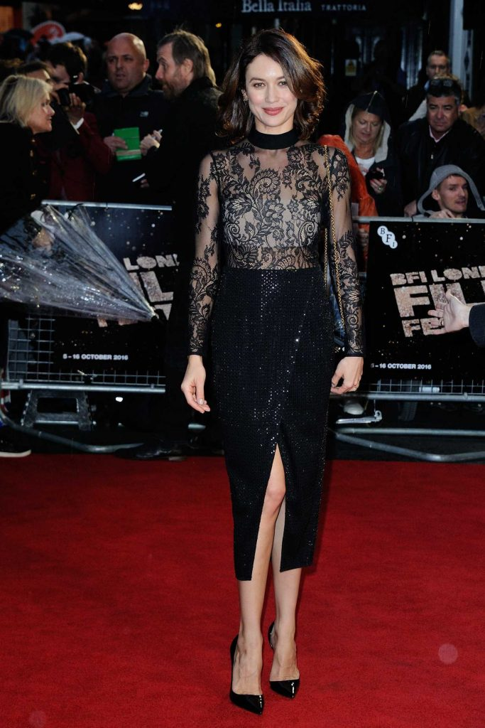 Olga Kurylenko at the Snowden Premiere During the London Film Festival-1