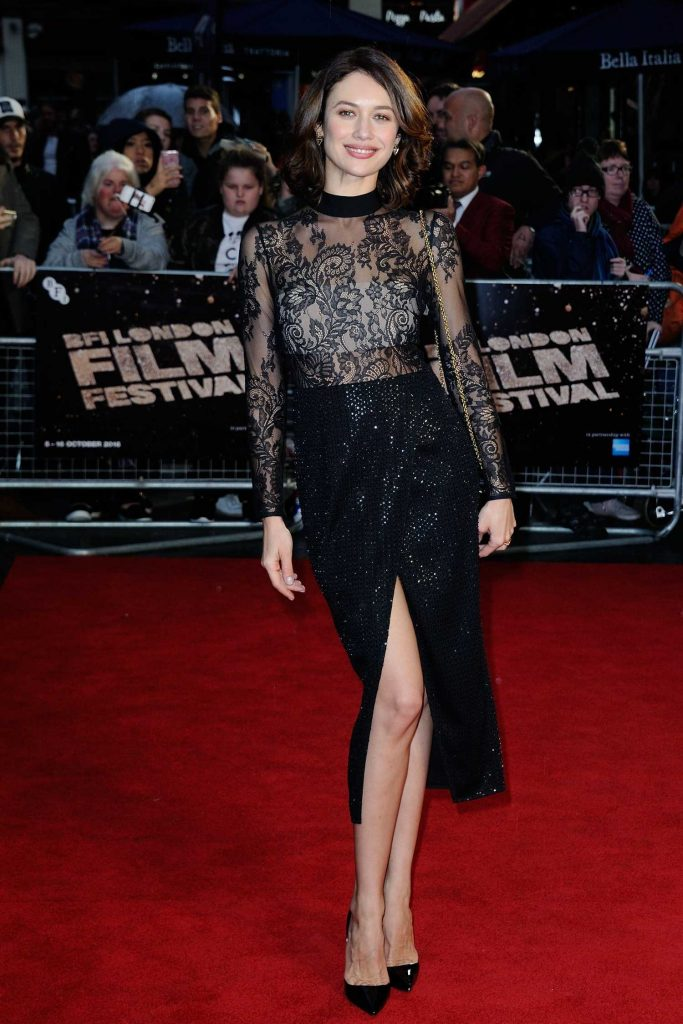 Olga Kurylenko at the Snowden Premiere During the London Film Festival-2