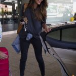 Pia Miller Arrives at Sydney Airport