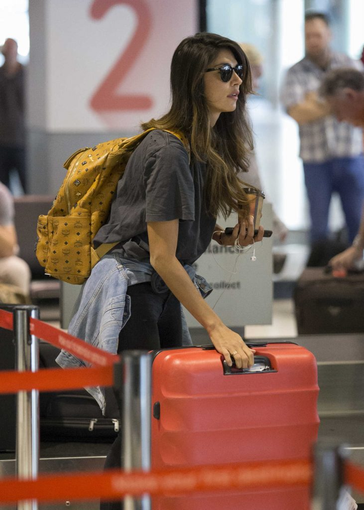 Pia Miller Arrives at Sydney Airport-5