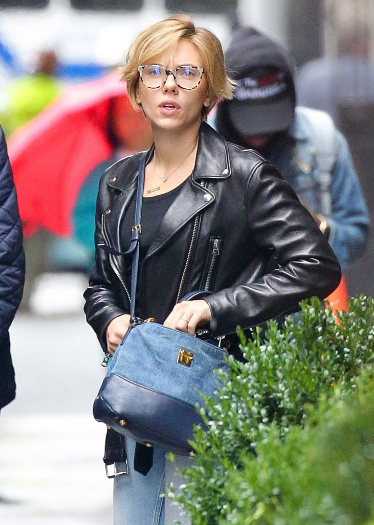 Scarlett Johansson Was Seen Out in New York City-1