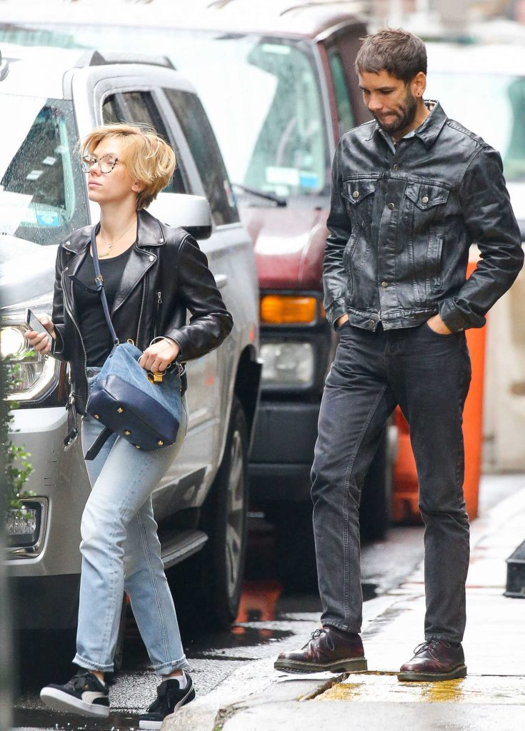 Scarlett Johansson Was Seen Out in New York City-3