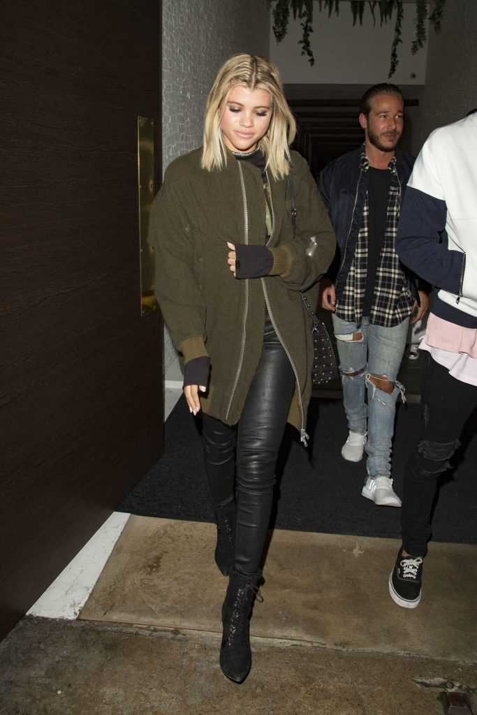 Sofia Richie Leaves the Tape Night Club in London-1