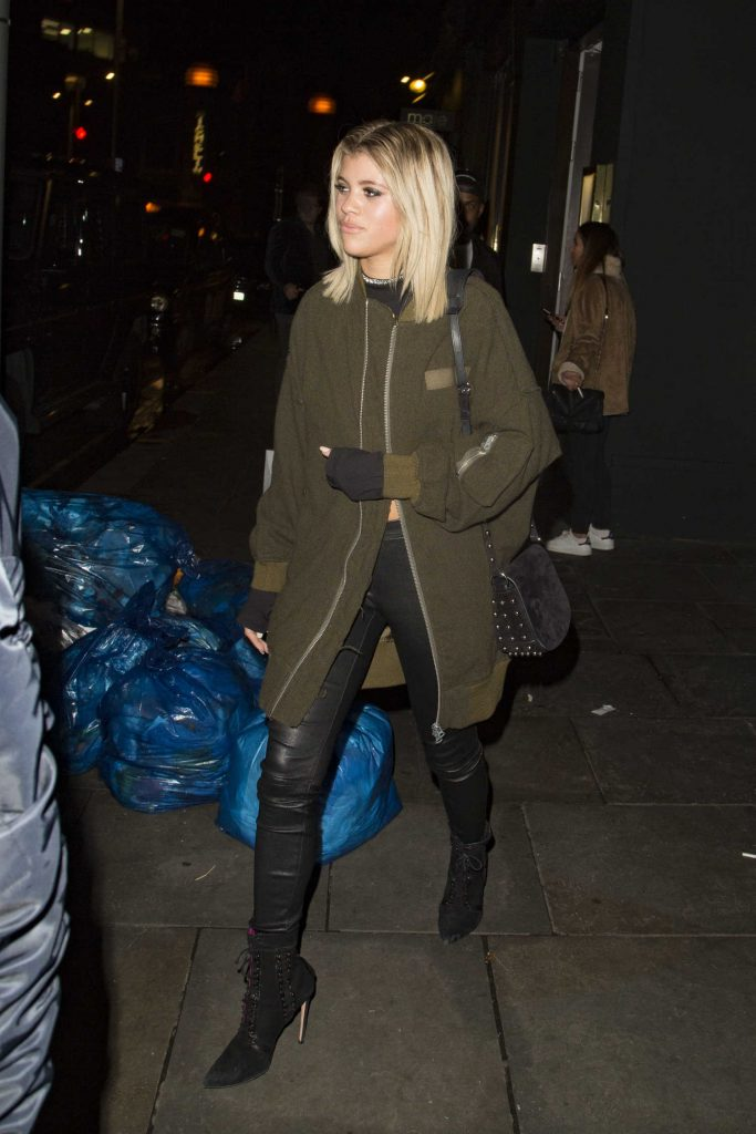 Sofia Richie Leaves the Tape Night Club in London-2