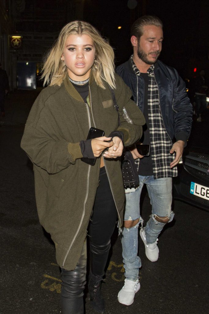Sofia Richie Leaves the Tape Night Club in London-3
