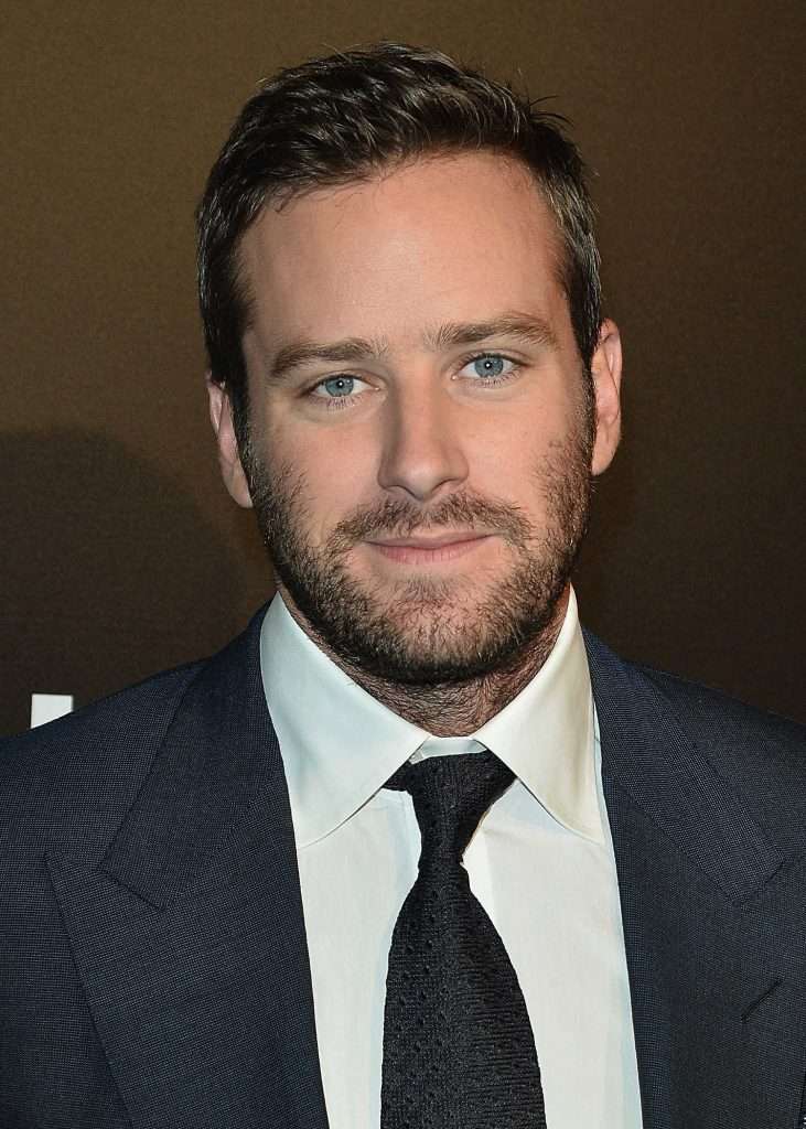 Armie Hammer at the No...