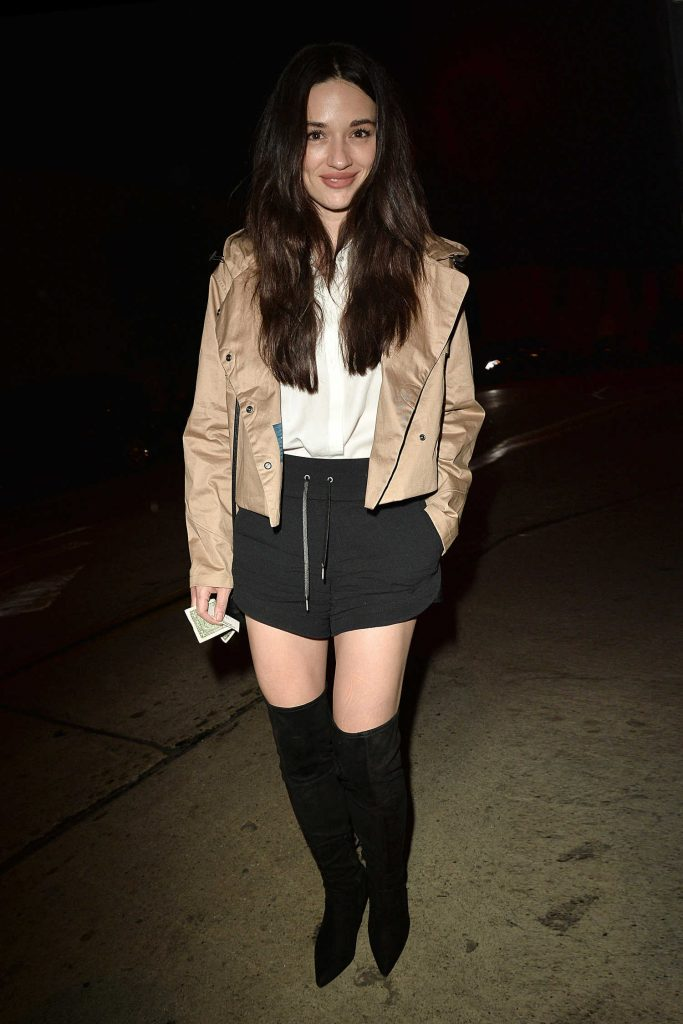 Crystal Reed Arrives at Catch Resturant in West Hollywood-1