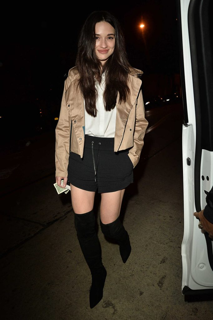 Crystal Reed Arrives at Catch Resturant in West Hollywood-2