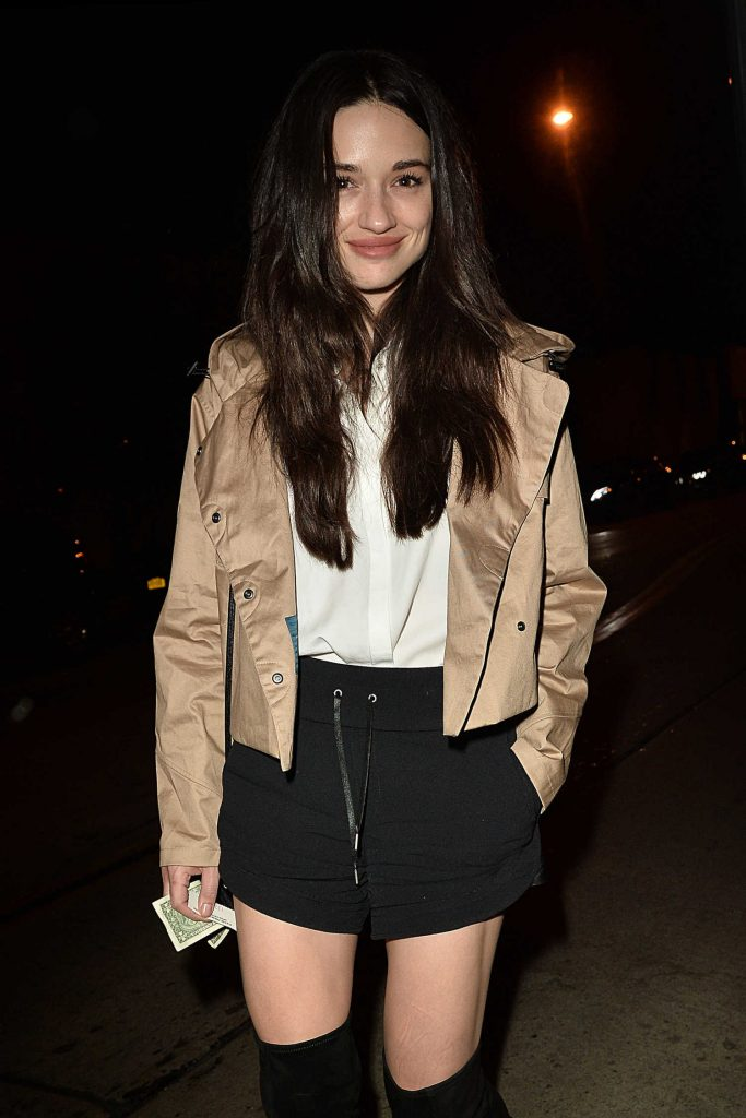 Crystal Reed Arrives at Catch Resturant in West Hollywood-3
