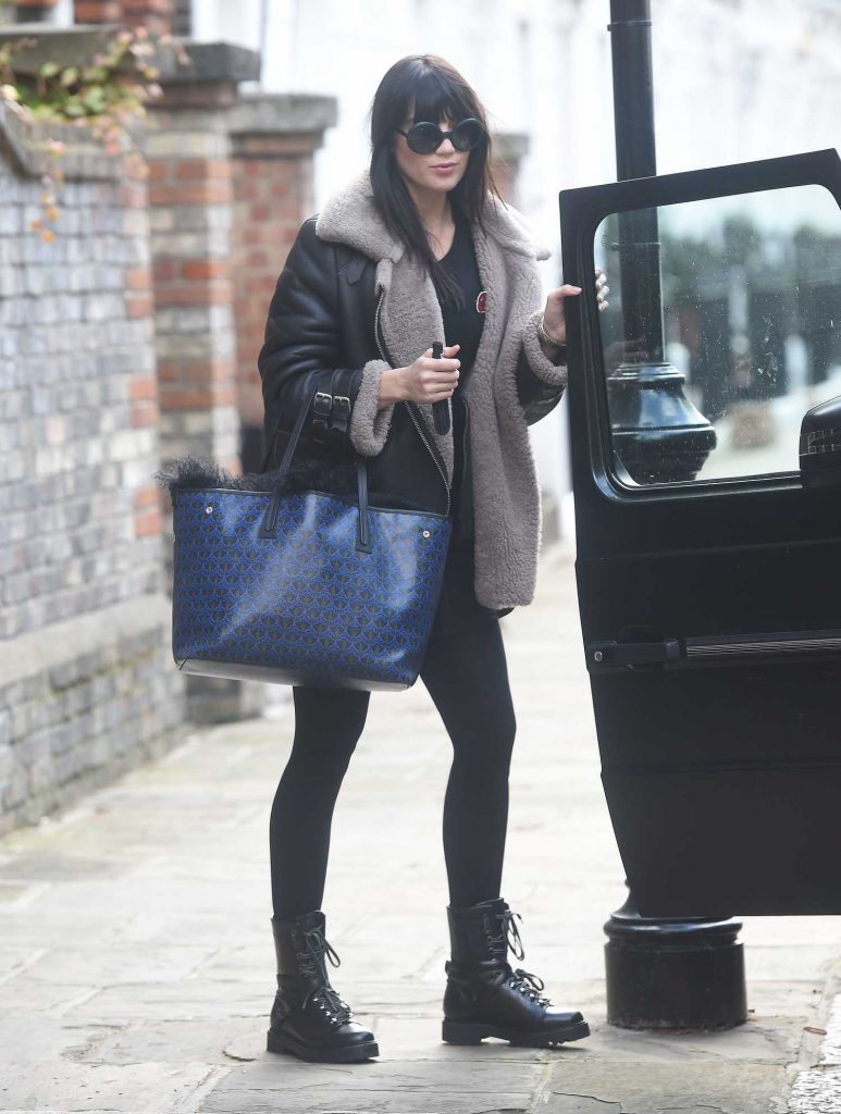 Daisy Lowe Was Spotted Out in London-1