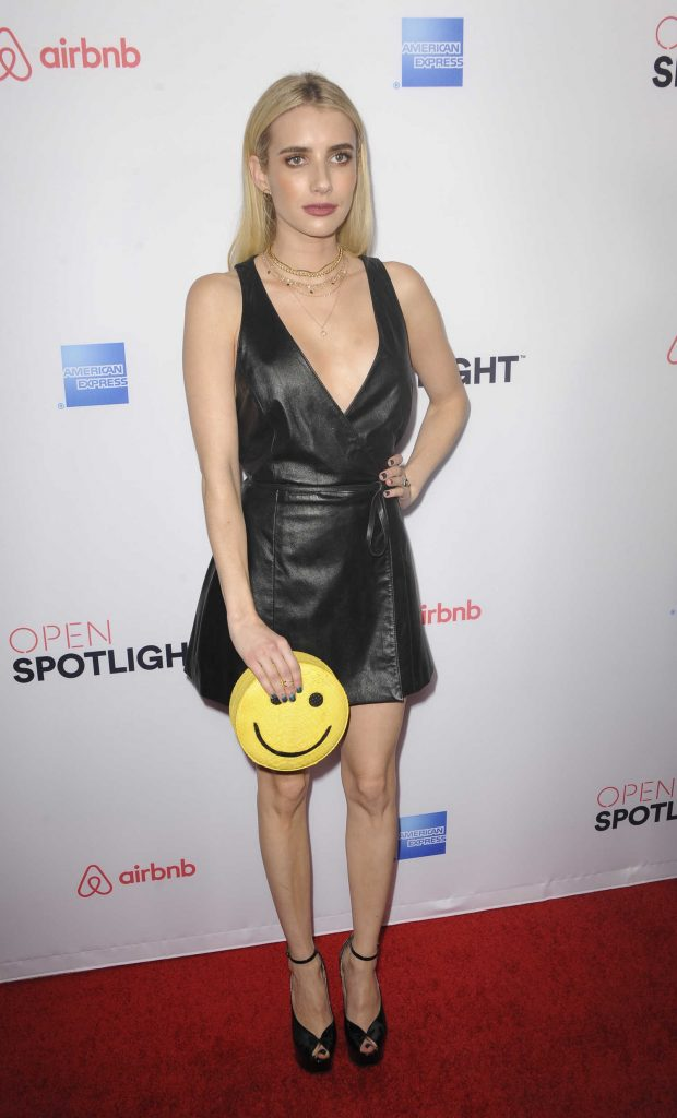 Emma Roberts at Airbnb Open Spotlight in Los Angeles-1